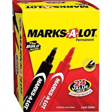 Avery® Large Desk Style Permanent Markers (BX/BOX)