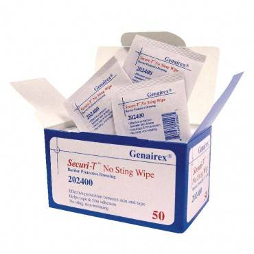 Securi-t Usa No Sting Wipe Barrier Protective Dressing Part No. 202400 (50/box)