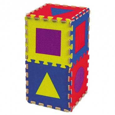 Creativity Street  WONDERFOAM EARLY LEARNING, SHAPE TILES, AGES 2 AND UP AC4354 1 Each