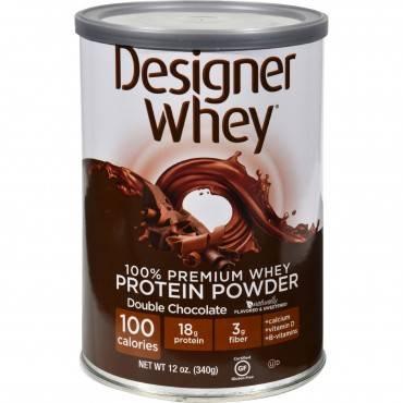 Designer Whey - Protein Powder - Double Chocolate - 12.7 Oz