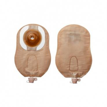 """Premier Convex Flextend Urostomy Pouch 2"""" (51mm) Cut-fo-fit Tape, Beige Part No. 8439111 (5/box)"""