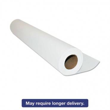 """Standard Exam Table Paper, Crepe Texture, 18"""" X 125 Ft, White"""