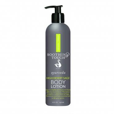 Soothing Touch Body Lotion - Ayurveda - High Desert Sage - 8 oz