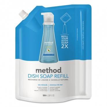 Dish Soap Refill, Sea Minerals, 36 Oz Pouch