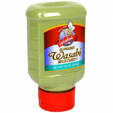 Woeber's Supreme Wasabi Mustard - Case Of 6 - 10 Oz.