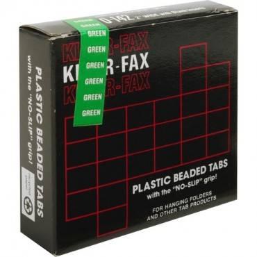 Kleer-Fax 1/5 Cut Hanging Folder Tabs (PK/PACKAGE)