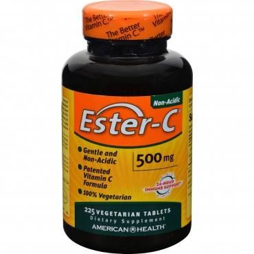 American Health - Ester-c - 500 Mg - 225 Vegetarian Tablets