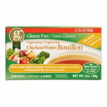 Celifibr Soup Bouillon Cubes - Vegetarian Chicken - 2 oz - Case of 12