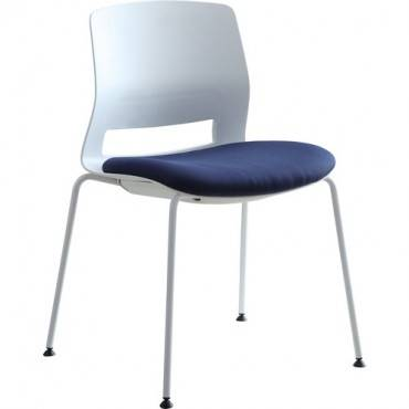 Lorell Arctic Series Stack Chair (CA/CASE)