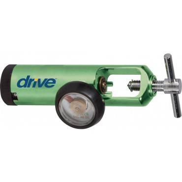 Cga 540 Oxygen Regulator 0-15 Lpm Diss Outlet, Mini
