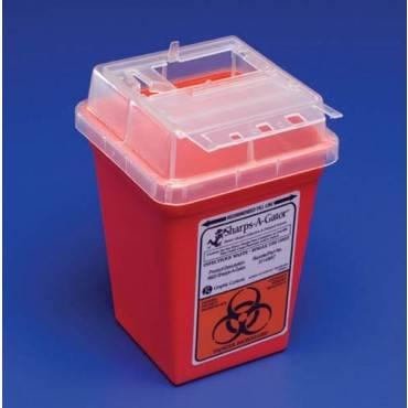 Covidien Sharps-a-gator- Counter Unit- 2 Gallon Part No.31142222