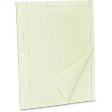 TOPS Green Tint Engineer's Quadrille Pad - Letter (EA/EACH)