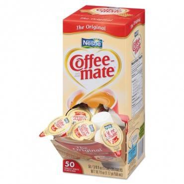 Liquid Coffee Creamer, Original, 0.38 Oz Mini Cups, 50/box
