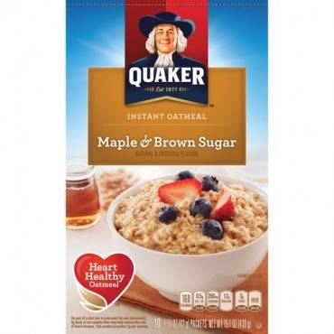 Quaker Oats Instant Oatmeal (BX/BOX)