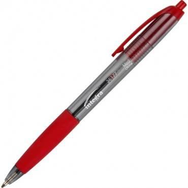 Integra Rubber Grip Retractable Pens (DZ/DOZEN)
