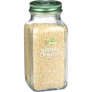 Simply Organic Sesame Seeds - Organic - Whole - 3.70 oz