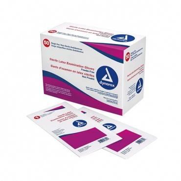 Sterile Powder-free Latex Exam Glove Large Part No. 2453 (50/box)