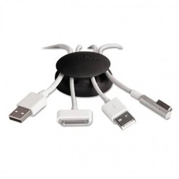 Cord Catcher For Desks & Workstations, Black