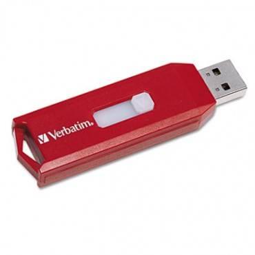 Verbatim  Store 'N' Go Usb 2.0 Flash Drive, 32gb, Red