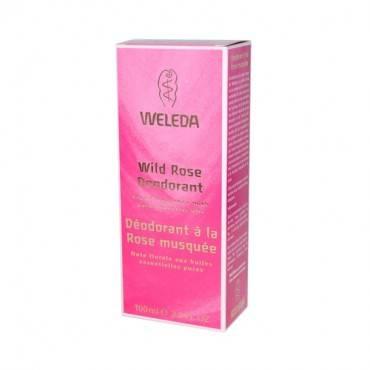 Weleda Deodorant Wild Rose - 3.4 fl oz
