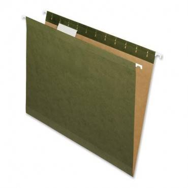 Nature Saver Recycled Green Hanging File Folders (BX/BOX)