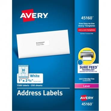 Avery® Address Labels with Sure Feed™ Technology (BX/BOX)