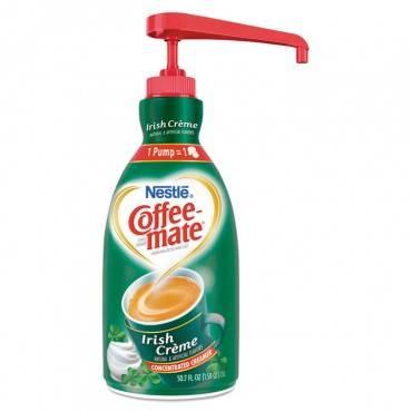 Coffee Mate  Irish Creme Liquid Creamer, 1.5l Pump Bottle 83475 1 Each