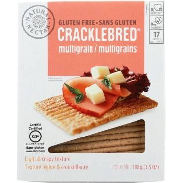 Natural Nectar Gluten Free Cracklebred Multigrain - Case Of 12 - 3.5 Oz.