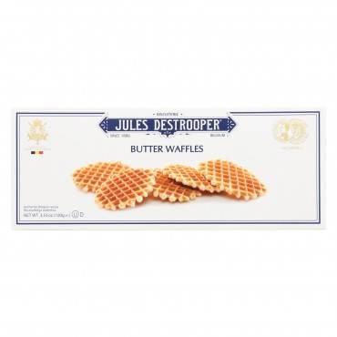 Jules Destrooper - Cookies - Butter Waffles - Case Of 12 - 3.52 Oz.