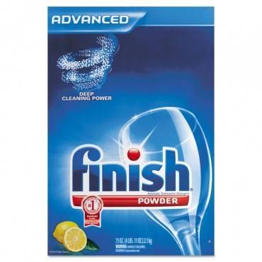 Finish  Automatic Dishwasher Detergent, Lemon Scent, Powder, 2.3 Qt. Box