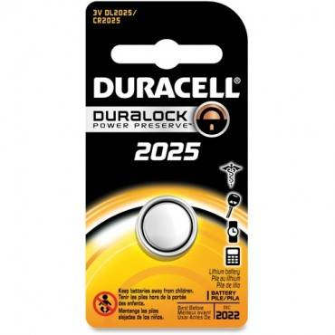 Duracell Coin Cell Lithium 3V Battery - DL2025 (EA/EACH)