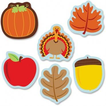 Carson-Dellosa Fall Mix Mini Cut-outs (PK/PACKAGE)