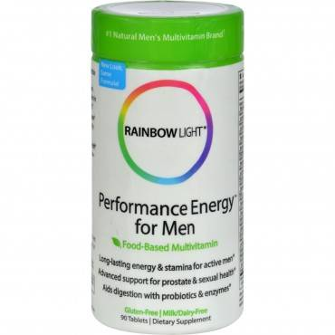 Rainbow Light Performance Energy Multivitamin for Men - 90 Tablets