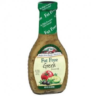 Maple Grove Farms Fat Free Greek Syrup - Case Of 12 - 8 Oz.