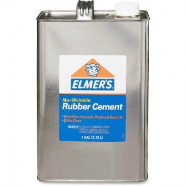 Elmer's No-Wrinkle Acid-Free Rubber Cement (EA/EACH)