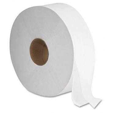 """Gen Jrt Jumbo Bath Tissue, 2-Ply, White, 12"""" Diameter"""