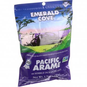 Emerald Cove Pacific Arame - Sea Vegetables - Silver Grade - 1.76 Oz - Case Of 6