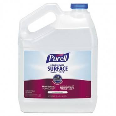 Foodservice Surface Sanitizer, Fragrance Free, 128 Oz Bottle