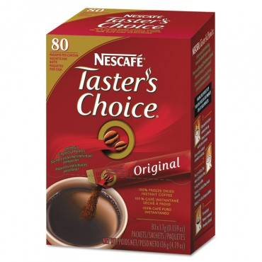 Taster's Choice Stick Pack, House Blend, 80/box