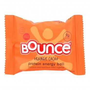 Bounce - Energy Ball Orange Cacao - Case Of 12-1.48 Oz