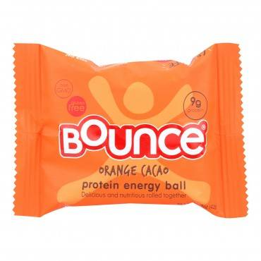 Bounce - Energy Balls - Orange Cacao - Case Of 12 - 1.48 Oz.