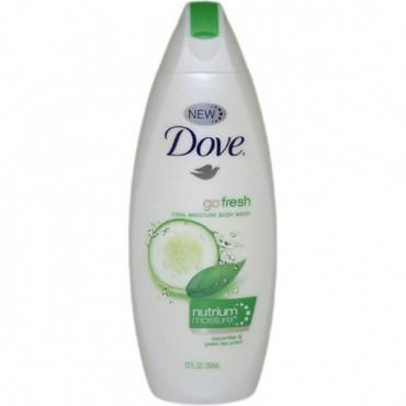 Body Wash Doveâ® Cool Moisture Liquid 12 Oz. Bottle Cucumber Green Tea Scent(1/ea)