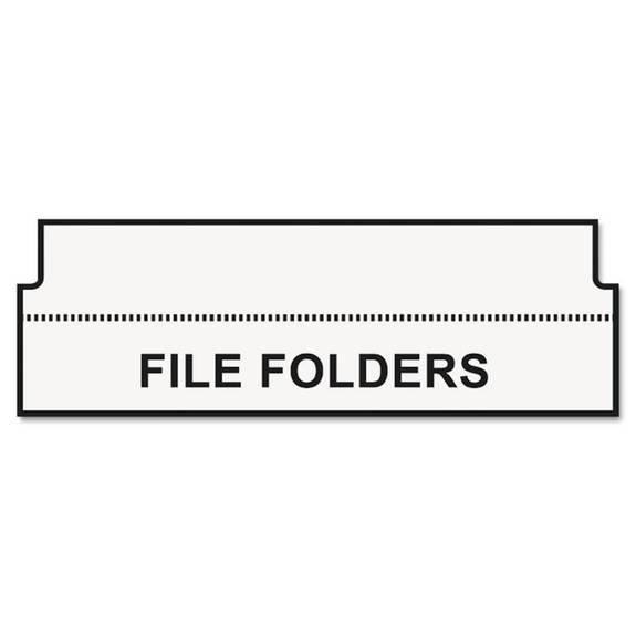 dymo labelwriter hanging file folder tab inserts  9  16 x 2