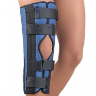 "Breathable Universaltri-Panel Foam Knee Immobilizer 22"" Blue Un"