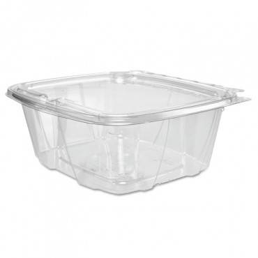 Clearpac Container, 6.4 X 2.6 X 7.1, 32 Oz, Clear, 200/carton