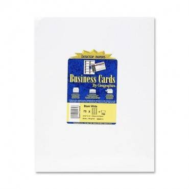 Geographics Inkjet, Laser Print Business Card (PK/PACKAGE)