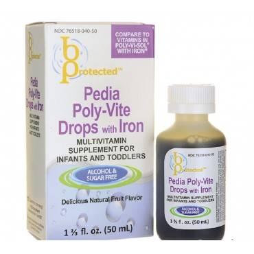 Anda Inc. Polyvitamin Liquid with Iron (pack of 1)