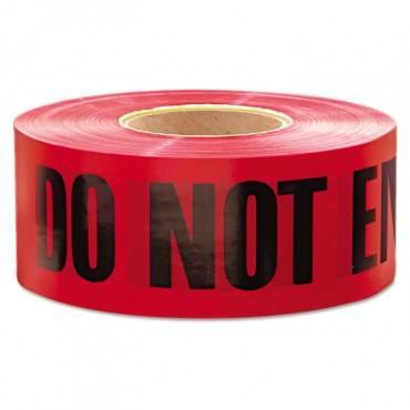 """1,000 Ft. X 3 In. """"danger Do Not Enter"""" Barricade Tape (red)"""
