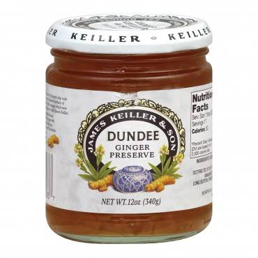 Keiller-Dundee Preserves - Ginger - Case of 6 - 12 oz