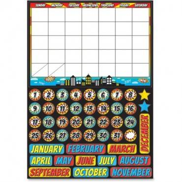 Ashley Superhero Magnetic Calendar Set (ST/SET)
